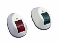Огни ходовые красный и зеленый белый корпус Арт CMG 900001