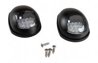 Огни ходовые светодиодные в черном корпусе Арт Vdn 00331