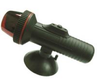 Огонь ходовой красный и зеленый светодиод на присоске на батарейках Арт CMG