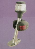 Огонь комбинированный на стойке 30 см (топовый, красный, зеленый) Арт Skipper LP-ARD-FL-TNG-C1453
