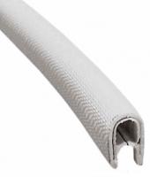 Окантовка (защита) кромки  3-6мм белый армированный ПВХ 1 метр Арт Skipper PVC STRIP W