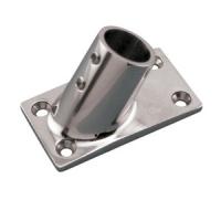 Основание стойки прямоугольное для труб 25 мм угол 60 гр Арт CMG 710162