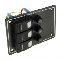 Панель бортового питания 3 клавиши и предохранителя АртVDNAES121414B