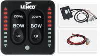 Панель управления электрическими транцевыми плитами с индикатором угла наклона LENCO Арт CMG614030