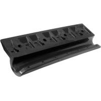 Передвижное крепление лавки 12 см (ликпаз) черное Арт Flc