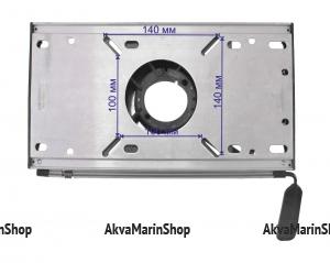 Переходник под сиденье сдвижной на стойку 60 мм SPRINGFIELD 3100531-1 Арт CMG 710278