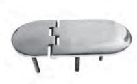 Петля разновеликая со шпильками 126х40 мм Арт CMG 710246