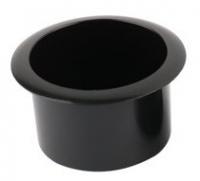 Подстаканник пластиковый чёрный 85х60 мм Арт CMG 710304