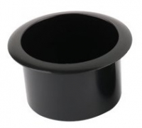 Подстаканник пластиковый черный 85х60 мм Арт CMG 710306