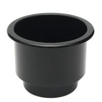 Подстаканник врезной пластиковый чёрный 108Х80 мм Арт CMG 710297