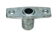 Подуключина врезная диаметр штока 15 мм  из оцинкованной стали Арт CMG 210342