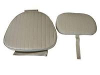 Подушки серого цвета для сидений Командор Арт CMG 710176