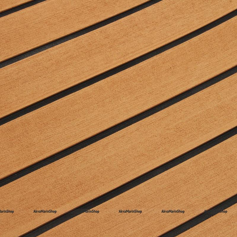 Покрытие палубное EVADECK нескользящее самоклеящееся светло-коричневое 1,2х2,4 м Арт SkipperDP-000LBB120BG