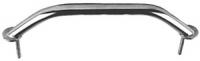 Поручень с креплением на шпильках из трубы с диаметром 22 мм нержавеющая сталь Арт CMG