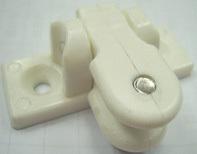 Поворотное крепление для тента, пластик белый CMG 710153