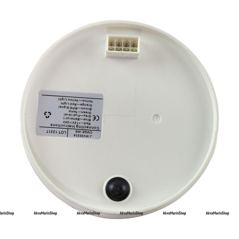 Прибор многофункциональный 4 в 1, белый циферблат, нержавеющий ободок 0-180 ОМ KUS Арт WM JMV00234