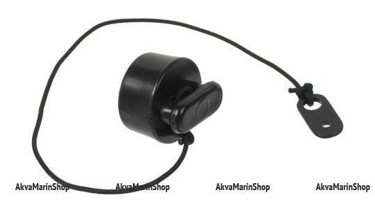 Пробка сливного клапана надувной лодки черная Арт Vdn SSCL00018106
