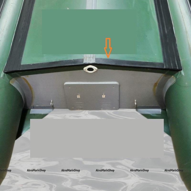 Профиль Г-образный - защита транца лодки снизу 35х15 мм пластифицированный ПВХ Арт Flc