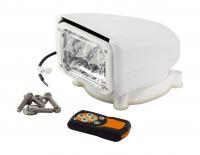 Прожектор с дистанционным управлением, белый корпус, светодиодный, брелок, модель 150 Allremote Арт VdnSL15071CW12VSD