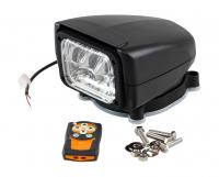 Прожектор с дистанционным управлением, черный корпус, светодиодный, брелок, модель 150 Allremote Арт VdnSL15071CB12VSD