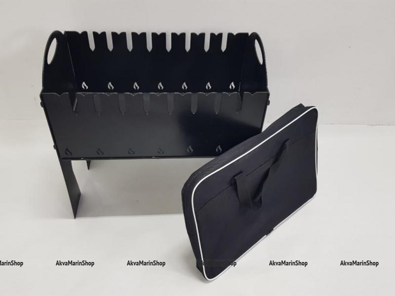 Разборный мангал из жаропрочной стали 3 мм с сумкой Арт Tnr