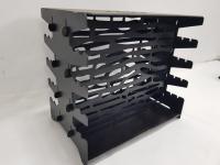 Разборный вертикальный мангал из жаропрочной стали 3 мм с сумкой Арт Tnr