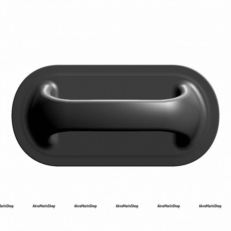 Ручка лодочная большая (черная) Арт Flc