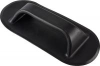 Ручка транспортировочная черная, овальная Арт Krsr