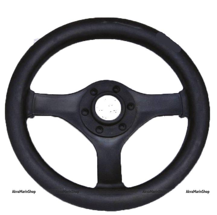 Рулевое колесо 280 мм из полиуретана (под кожу) Арт KMG
