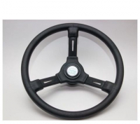 Рулевое колесо 350 мм из черного ударопрочного термопластика Mavimare Арт KMG 613031