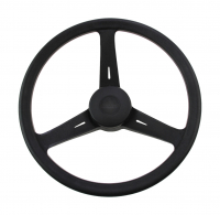 "Рулевое колесо ""Classic"" 350 мм черное Lalizas Арт VDN70001"