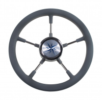 Рулевое колесо RIVA RSL 320 мм с пятью нержавеющими спицами и ободом из полиуретана Арт VDN