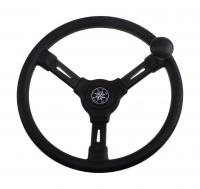 Рулевое колесо RIVIERA 350 мм из термопластика с ручкой для быстрого маневрирования Арт VDNVN8250-01