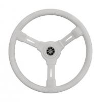 Рулевое колесо RIVIERA белый обод и спицы д. 350 мм Арт VDNVN8001-08