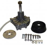 Рулевой редуктор G 12 в металлическом корпусе, до 200 л.с., с чёрной накладкой, под трос M-66, MAVIMARE Арт KMG 611010