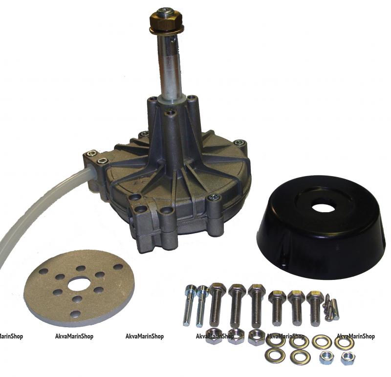 Рулевой редуктор G 10 до 85 л.с. с чёрной накладкой, MAVIMARE Арт KMG 611008