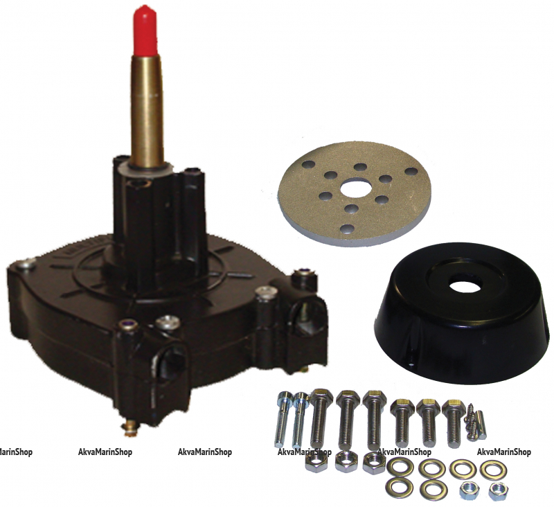 Рулевой редуктор Multiflex до 150 л.с. с комплектом установки (аналог G12) под трос M-66 Арт KMG611012