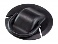 Рым кольцо пластиковое диаметром 77 мм с кольцом 50 мм для приклейки на ПВХ Арт Adm