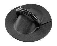 Рым кольцо пластиковое с диаметром основания 70 мм и диаметром полукольца 30 мм для приклейки на ПВХ Арт Flc