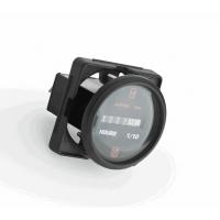 Счетчик моточасов  серии Professional с черным циферблатом и черным ободком UFLEX США 63212X Арт Akva 1178