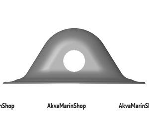 Шайба леерная ПВХ диаметром 78 мм отверстие 11.5 мм Арт Flc
