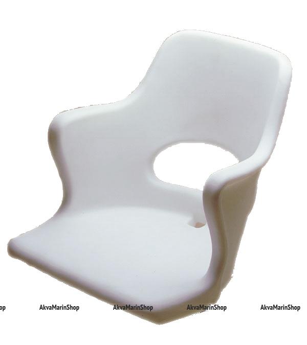 Сиденье пластиковое с подлокотниками тип Командор Арт CMG 710175