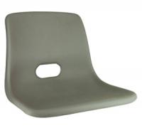 Сиденье пластиковое серое без мягких подушек Арт CMG710182