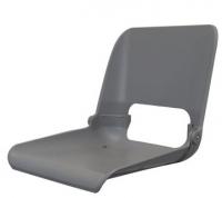 Сиденье складное серое Fishstyle без подушек Арт CMG 710320