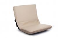 Складное кресло-сиденье реечное с мягким чехлом Арт Tnr