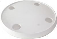 Столешница круглая 610 мм из белого пластика с четырьмя подстаканниками Eastsun Marine Арт ESM189000-TR
