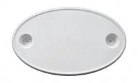 Столешница овальная пластиковая 450х750 мм Springfield 1670006 Арт CMG710189