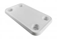 Столешница прямоугольная пластиковая 390х690 мм Арт Vdn 1670008
