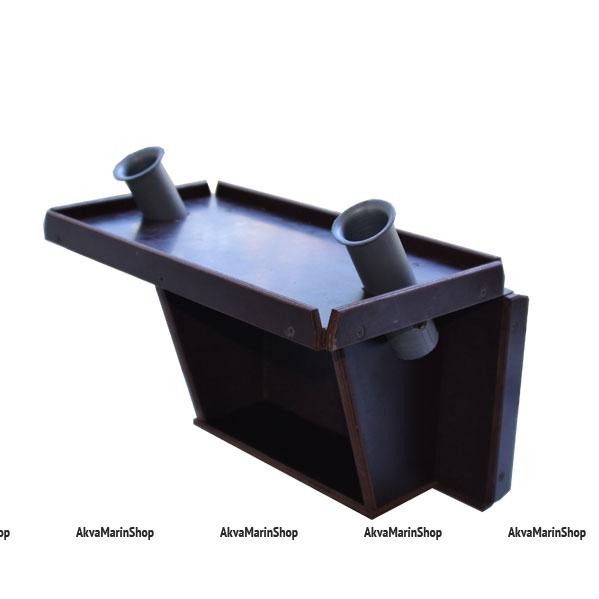 Столик для эхолота с держателями удилищ и аккумулятора для лодки ПВХ Арт TB19