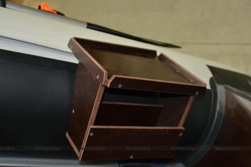 Столик в лодку ПВХ для эхолота и аккумулятора Арт TB21